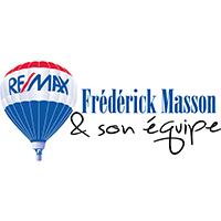Fred Masson REMAX logo - Partenaire de la ligue LHPA